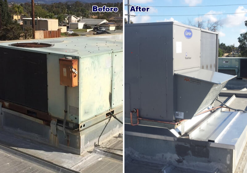 Carrier Air Conditioning Replacement