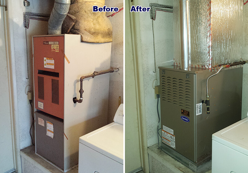 Carrier air conditioner & ductwork installation Laguna Hills, CA