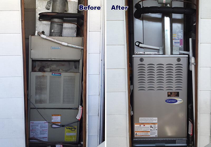 Alicia Air Conditioning Heating Recent Projects