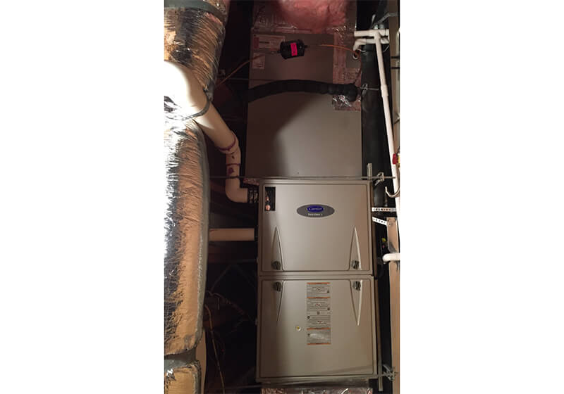 Carrier furnace installation San Clemente