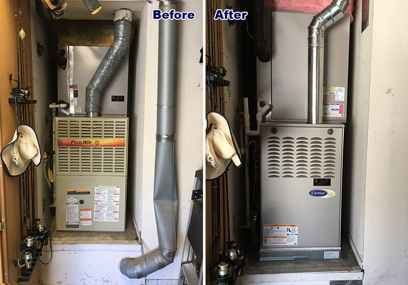 Furnace installation in Irvine, CA