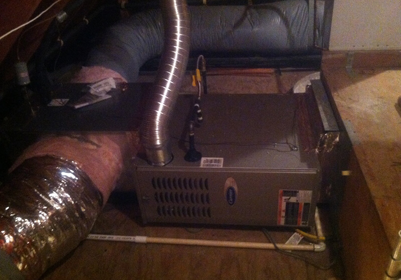 Corona Del Mar Furnace Installation