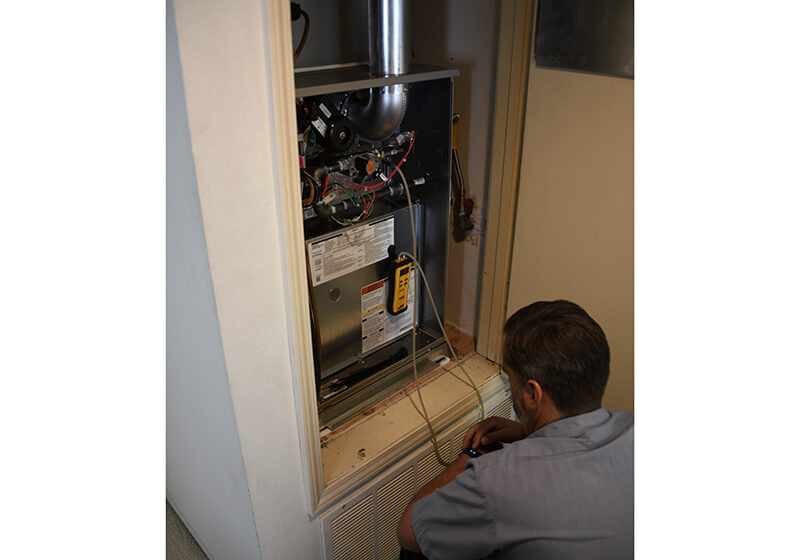 Ultra Low NoX Furnace Installation in Orange County, CA
