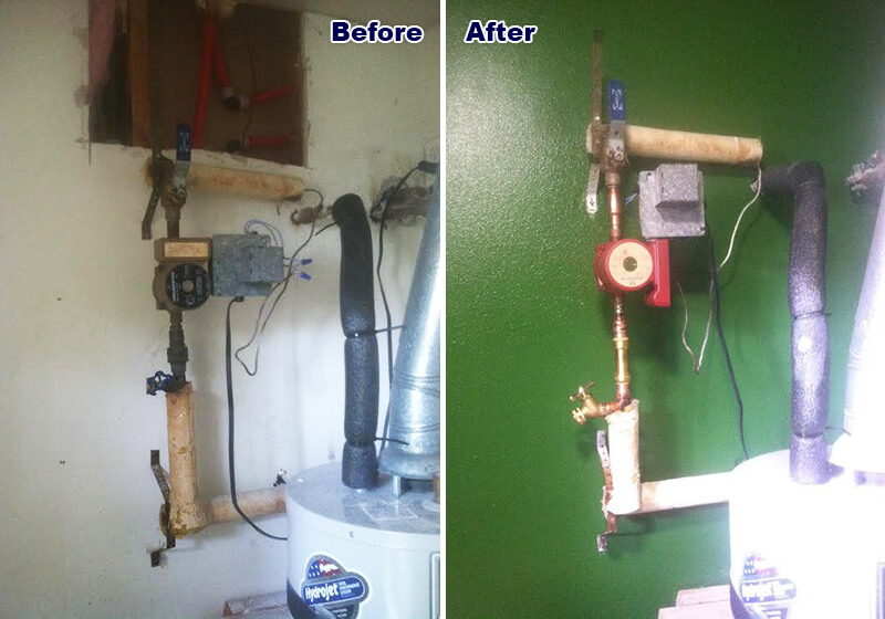 Hot Water Pump Replacement