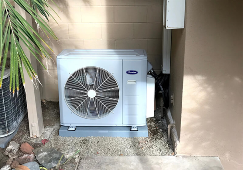 Carrier Mini Split Installation in Laguna Beach, CA