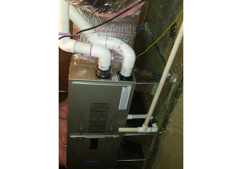 Laguna Beach, CA Carrier gas furnace installation