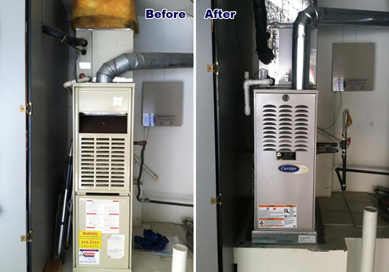 New Carrier Gas Furnace