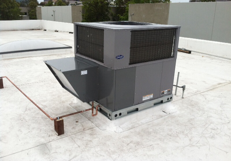14 Seer Carrier Performance Rooftop Package